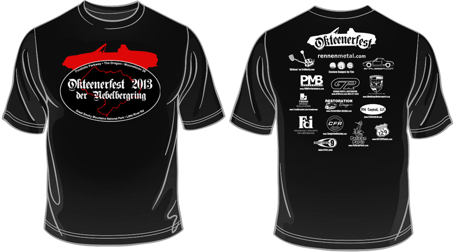 2013 sponsors okteenerfest for Sponsor t shirt design